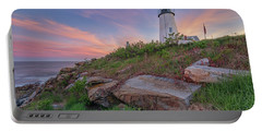 Pemaquid Point Sunset Portable Battery Charger