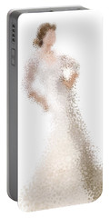 Portable Battery Charger featuring the digital art Penelope by Nancy Levan