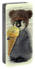 Penguin Ice Cream Portable Battery Charger