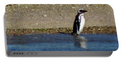 Penguin On The Beach Portable Battery Charger