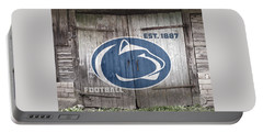 Penn State Football // Old Barn Doors Portable Battery Charger