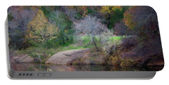 Pennington Creek In The Fall Portable Battery Charger