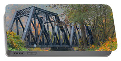Pennsylvania Bridge Portable Battery Charger by Cindy Manero