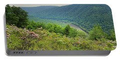 Pennsylvania Mountain Outlook Portable Battery Charger by Andrea Hazel Ihlefeld