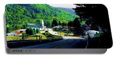 Pennsylvania Mountain Village Portable Battery Charger