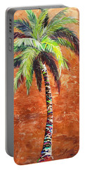 Penny Palm Portable Battery Charger by Kristen Abrahamson