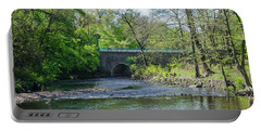 Portable Battery Charger featuring the photograph Pennypack Creek Bridge Built 1697 by Bill Cannon