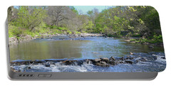 Portable Battery Charger featuring the photograph Pennypack Creek - Philadelphia by Bill Cannon