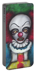 Pennywise Portable Battery Charger by Abril Andrade Griffith
