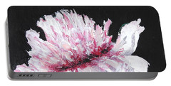 Peony Bloom Portable Battery Charger by Betty-Anne McDonald