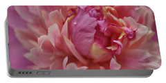 Peony Opening Portable Battery Charger