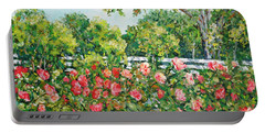 Peony Riot Portable Battery Charger