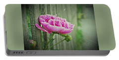 Portable Battery Charger featuring the photograph Peony Time by Marija Djedovic