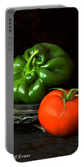Pepper And Tomato Portable Battery Charger