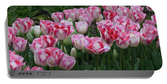 Peppermint Tulip Field II Portable Battery Charger