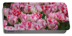 Peppermint Tulip Field IIi Portable Battery Charger