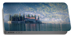 Perast Church Portable Battery Charger