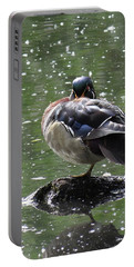 Perchance To Dream Of Fair Wood Duck Maidens Portable Battery Charger