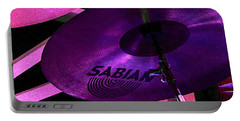 Portable Battery Charger featuring the photograph Percussion by Lori Seaman