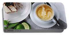 Perfect Breakfast Portable Battery Charger by Happy Home Artistry