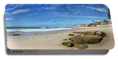 Portable Battery Charger featuring the photograph Perfect Day At Horseshoe Beach by Peter Tellone