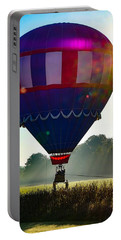 Portable Battery Charger featuring the photograph Perfect Landing by Kendall McKernon