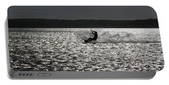 Portable Battery Charger featuring the photograph Perfect Light At Lake Wollumboola by Miroslava Jurcik
