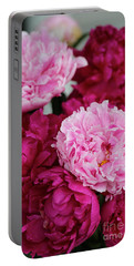 Perfect Peonies Portable Battery Charger