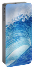 Perfect Wave At Pipeline Portable Battery Charger
