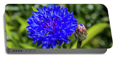 Perky Cornflower Portable Battery Charger
