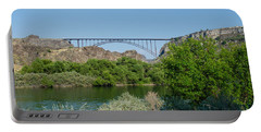 Perrine Bridge At Twin Falls Portable Battery Charger