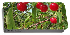 Perry's Cherry Image Portable Battery Charger