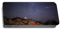 Perseids Over Caprock Canyons Portable Battery Charger
