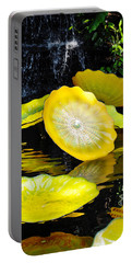 Persian Lily Pads Portable Battery Charger