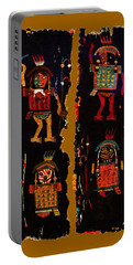 Portable Battery Charger featuring the digital art Peruvian Fab Art by Asok Mukhopadhyay
