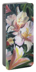 Peruvian Lily Portable Battery Charger