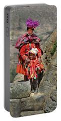 Peruvian Mother And Child Portable Battery Charger