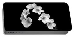 Petal Cascade Portable Battery Charger by Diane E Berry