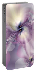 Petals Of Pulchritude Portable Battery Charger