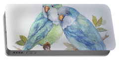 Pete And Repete Portable Battery Charger by Marcia Baldwin