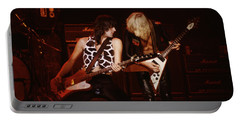 Pete Way And Michael Schenker Portable Battery Charger