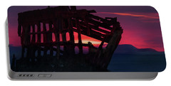 Peter Iredale Shipwreck Portable Battery Charger