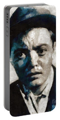 Peter Lorre Hollywood Actor Portable Battery Charger by Mary Bassett