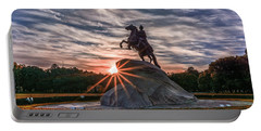 Peter Rides At Dawn Portable Battery Charger