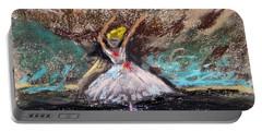 Petite Ballerina Portable Battery Charger