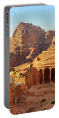 Petra Buildings, Pond And Gardens Complex Portable Battery Charger