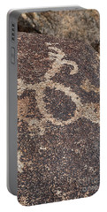 Petroglyph #2 Portable Battery Charger by Anne Rodkin