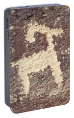 Portable Battery Charger featuring the photograph Petroglyph - Fremont Indian by Breck Bartholomew