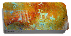 Petroglyph Panel Work 12 Portable Battery Charger
