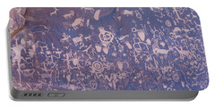 Petroglyphs Portable Battery Charger